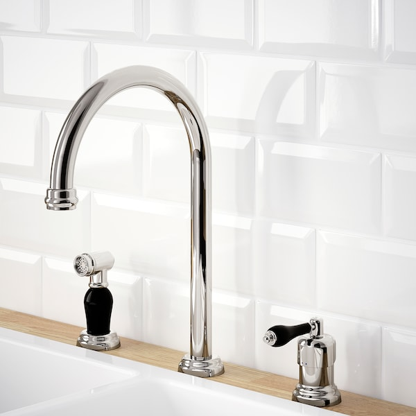 """VITHAVET kitchen faucet/separate handspray chrome plated 11 ½ """" 15 3/4 """""""