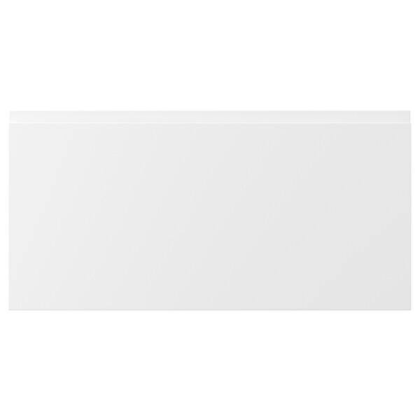 """VOXTORP Drawer front, matt white, 30x15 """""""