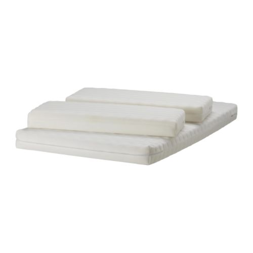 VYSSA SLÖA Mattress for extendable bed   Two different comfort surfaces.