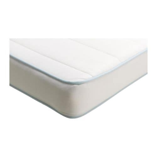 VYSSA SPELEVINK Mattress for crib   Top layer of latex adds extra comfort.