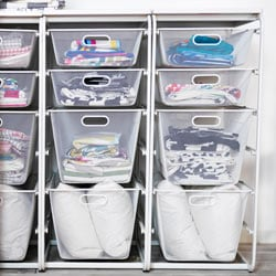 Go To Open Clothes And Shoe Storage System