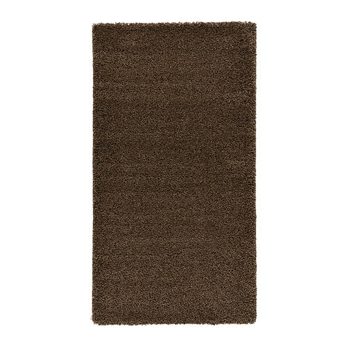 Dum tapis poil long 80x150 cm ikea for Tapis salon poil long