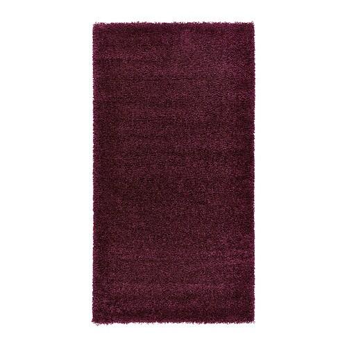 Dum tapis poil long 80x150 cm ikea - Tapis poil long ...