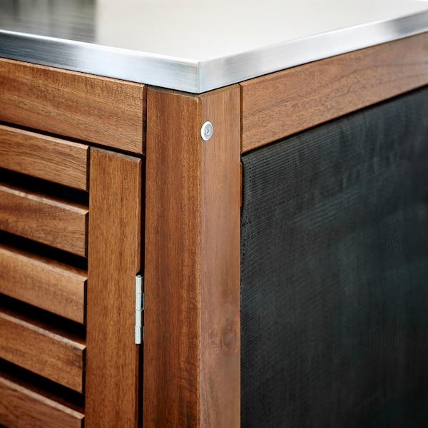 Applaro Klasen Rangement Exterieur Teinte Brun Couleur Inox Magasinez Sur Fr Ikea Ca Ikea