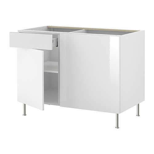 Cuisines et lectrom nagers - Ikea cuisine abstrakt blanc ...