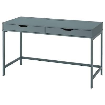 """ALEX Bureau, gris turquoise, 52x22 7/8 """""""