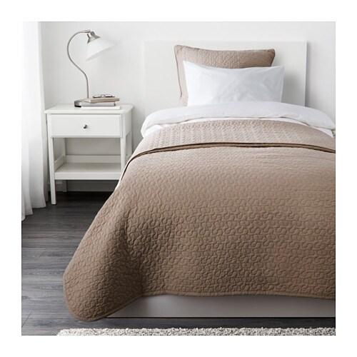Alina couvre lit et housse de coussin une place deux for Lit une place ikea