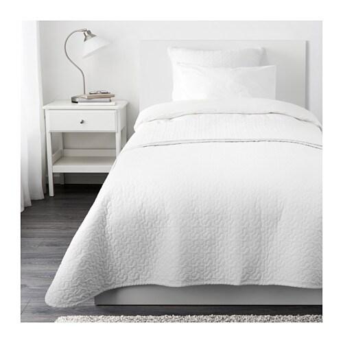 alina couvre lit et housse de coussin une place deux places ikea. Black Bedroom Furniture Sets. Home Design Ideas
