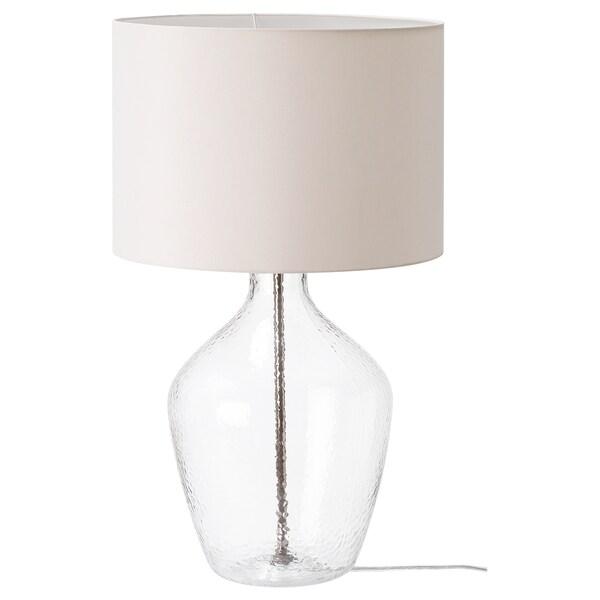 Allanit Lampe De Table Blanc Verre Ikea