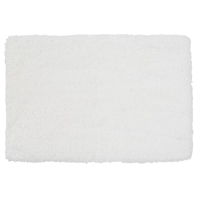 "ALMTJÄRN Tapis de bain, blanc, 24x35 """