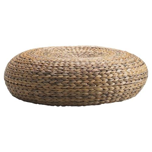 """ALSEDA pouf fibres de bananier 23 5/8 """" 7 1/8 """" 7 1/8 """""""