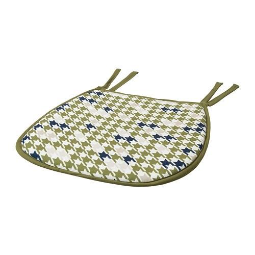 annvy coussin de chaise vert ikea. Black Bedroom Furniture Sets. Home Design Ideas