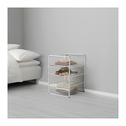 antonius structure corbeille en fil ikea. Black Bedroom Furniture Sets. Home Design Ideas