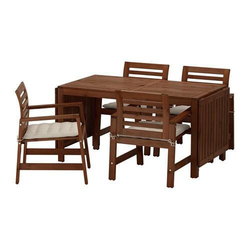 PPLAR Table 4 Chaises Accoud Extrieur