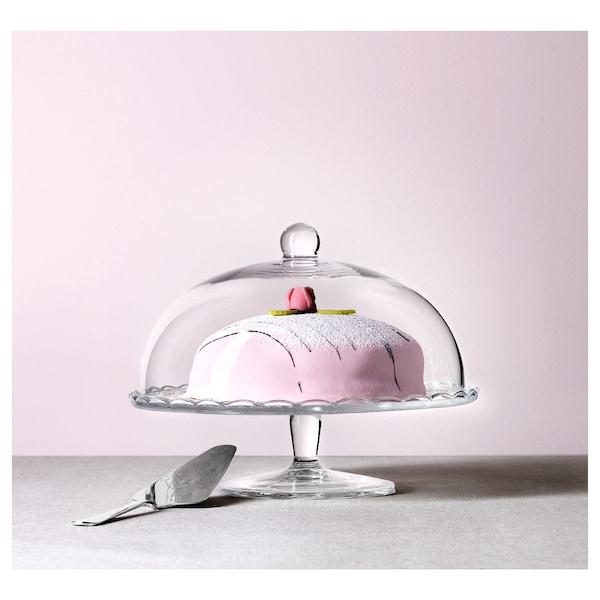 "ARV BRÖLLOP Cloche à gâteau, verre clair, 11 """
