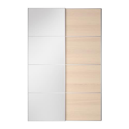 Auli ilseng portes coulissantes 2 pi ces 150x236 cm - Amortisseur porte cuisine ikea ...