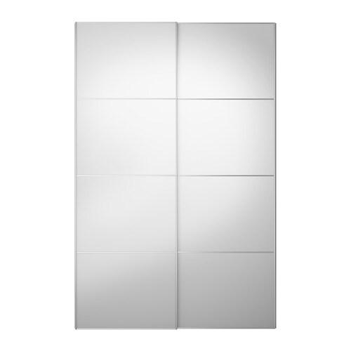 Auli portes coulissantes 2 pi ces 150x236 cm ikea - Porte coulissantes ikea ...