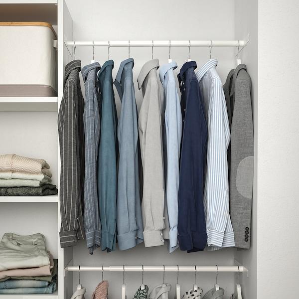 """AURDAL Agencement armoire-penderie, blanc, 68 1/2-94 1/2x15 3/4x87 """""""
