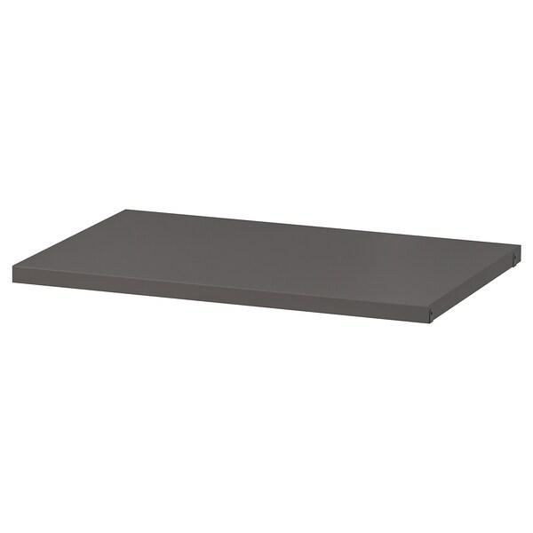 """AURDAL Tablette, gris foncé, 22 1/4x15 3/4 """""""
