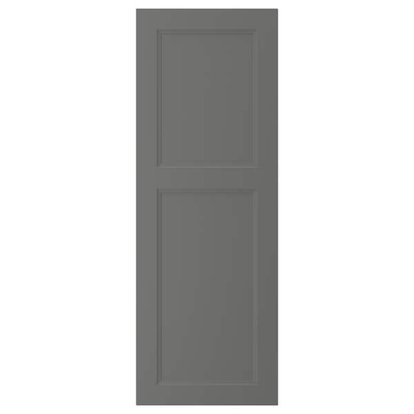 """AXSTAD Porte, gris foncé, 18x50 """""""
