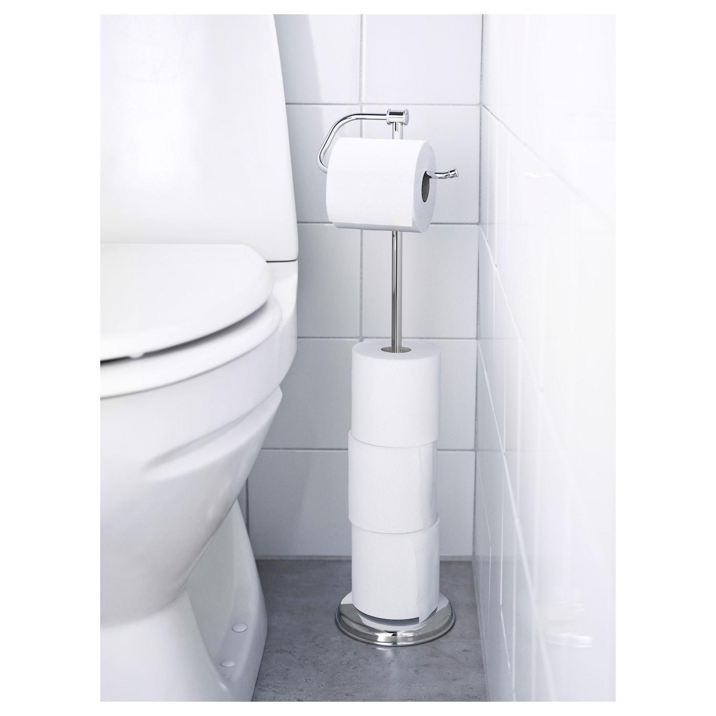 Rangement De Papier Toilette balungen porte-rouleau papier hygiénique - chromé