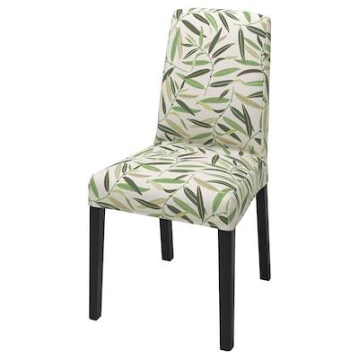 BERGMUND Housse chaise, Fågelfors multicolore