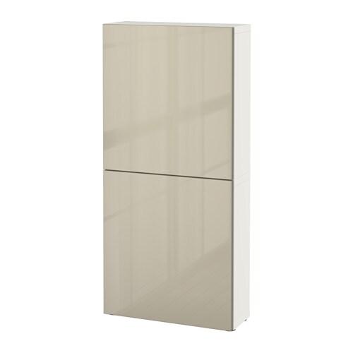 best armoire murale 2 portes blanc selsviken. Black Bedroom Furniture Sets. Home Design Ideas