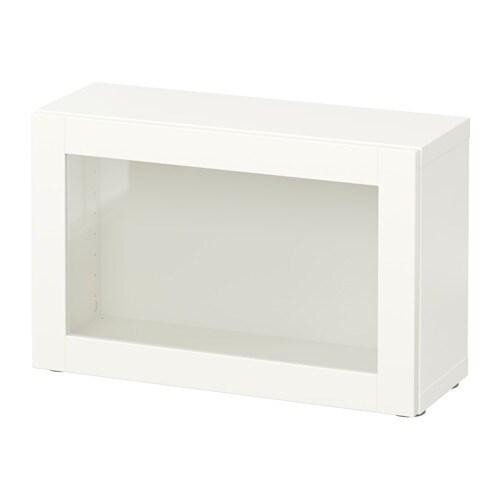 best tag re avec porte vitr e sindvik blanc ikea. Black Bedroom Furniture Sets. Home Design Ideas