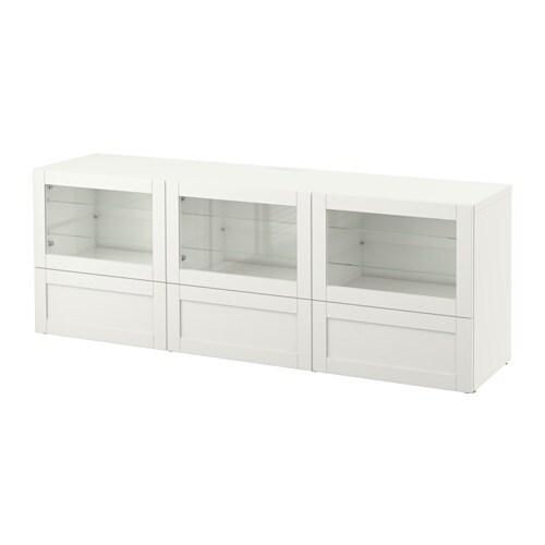 Best meuble t l portes et tiroirs hanviken sindvik for Glissiere porte coulissante meuble