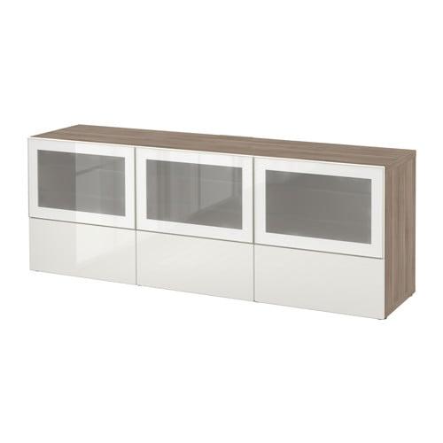 Best meuble t l portes et tiroirs effet noyer teint for Meuble 25 cm profondeur
