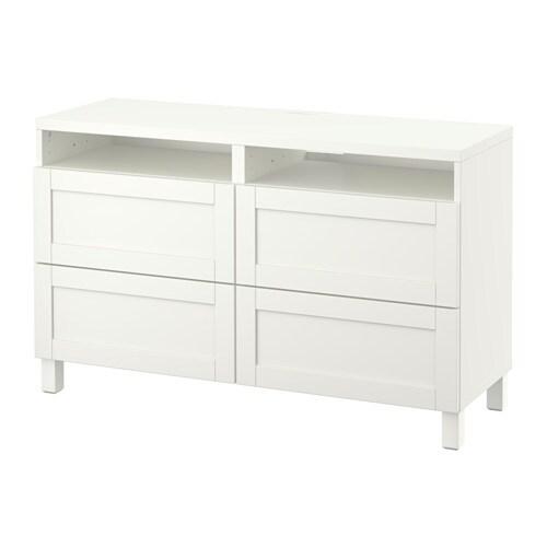 Best Meuble T L Avec Tiroirs Hanviken Blanc Ikea