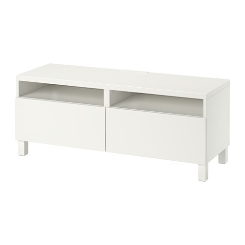 best meuble t l avec tiroirs lappviken blanc ikea. Black Bedroom Furniture Sets. Home Design Ideas