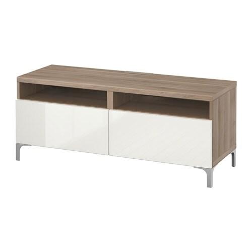 Best meuble t l avec tiroirs effet noyer teint gris for Meuble 4 tiroirs ikea