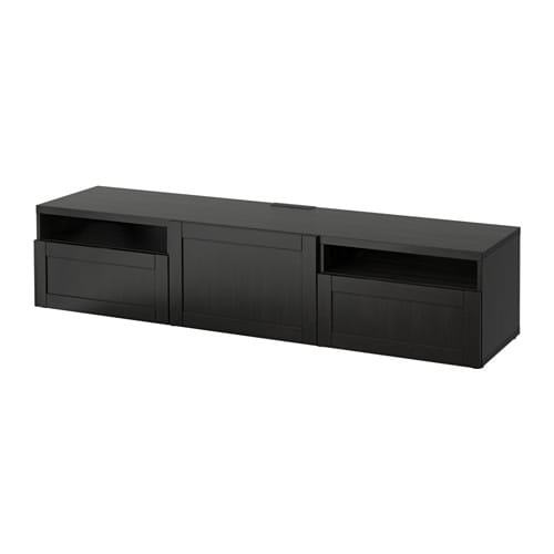 best meuble t l hanviken brun noir ikea. Black Bedroom Furniture Sets. Home Design Ideas