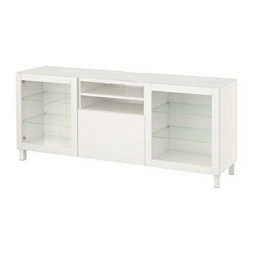 Best meuble t l lappviken sindvik verre transparent - Glissiere de tiroir a fermeture amortie ...