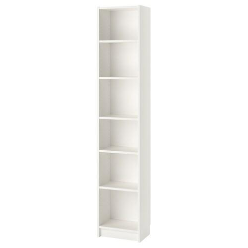 "BILLY bibliothèque blanc 15 3/4 "" 11 "" 79 1/2 "" 31 lb"
