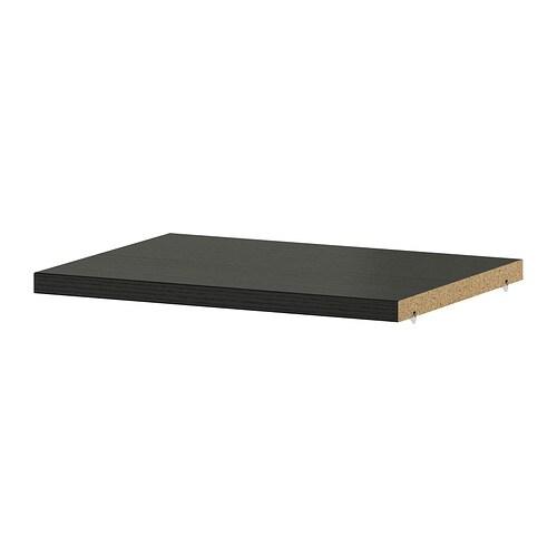 billy tablette suppl mentaire brun noir ikea. Black Bedroom Furniture Sets. Home Design Ideas