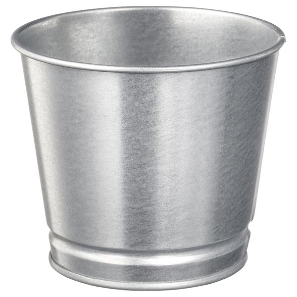 """BINTJE Cache-pot, galvanisé, 4 ¼ """""""