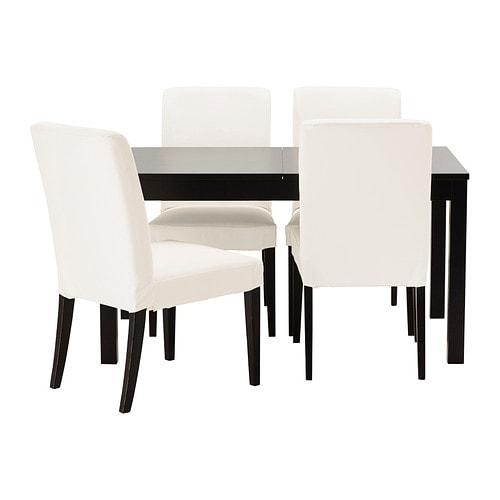 bjursta henriksdal table et 4 chaises ikea. Black Bedroom Furniture Sets. Home Design Ideas