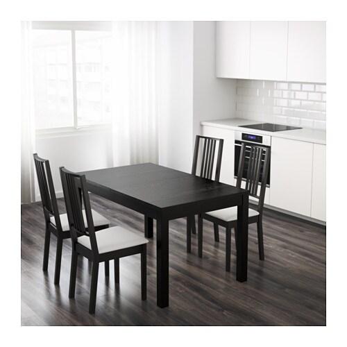 BJURSTA Table 224 rallonge brun noir IKEA : bjursta table a rallonge noir0449384PE598824S4 from www.ikea.com size 500 x 500 jpeg 43kB