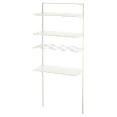 """BOAXEL 1 section blanc 32 1/4 """" 15 3/4 """" 79 """""""