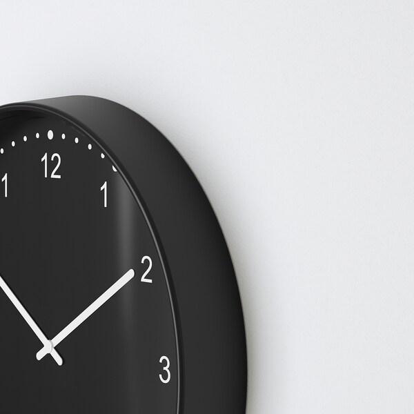 BONDIS Horloge murale, noir