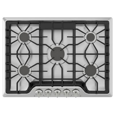 """BRÄNNPUNKT Table de cuisson à gaz, acier inox, 30 """""""