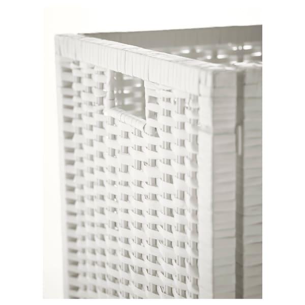 """BRANÄS Panier, blanc, 12 ½x13 ½x12 ½ """""""