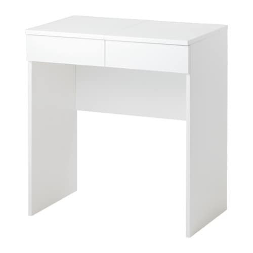 Brimnes coiffeuse ikea for Coiffeuse meuble blanc