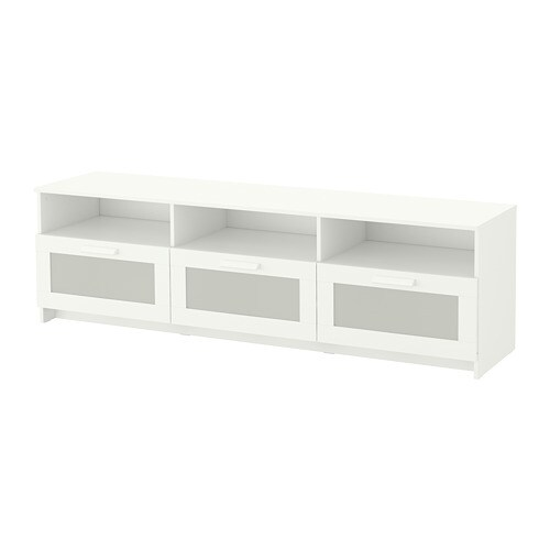 Brimnes Meuble T 233 L 233 Blanc Ikea