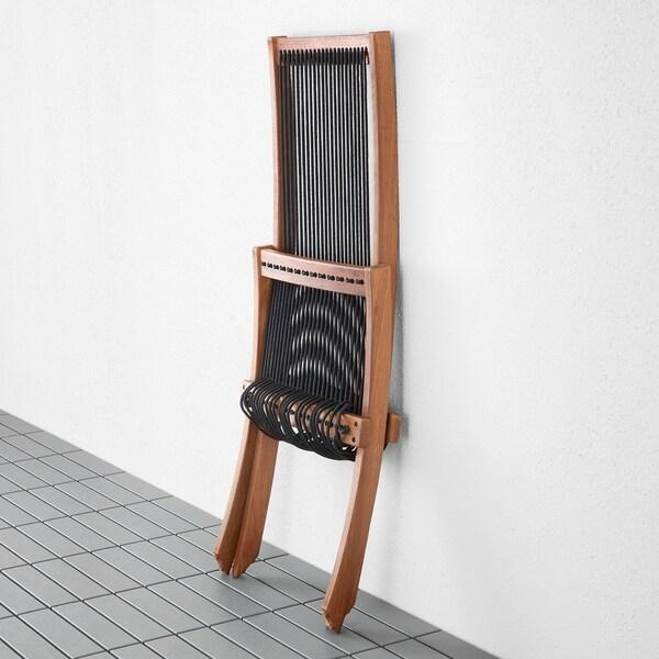 """BROMMÖ Chaise longue, extérieur teinté brun 18 7/8 """" 36 1/4 """" 35 """" 16 7/8 """" 15 3/8 """" 16 7/8 """""""