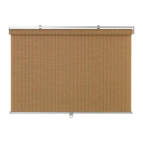 BUSKTOFFEL Store à enrouleur, brun clair brun clair 122x195 cm