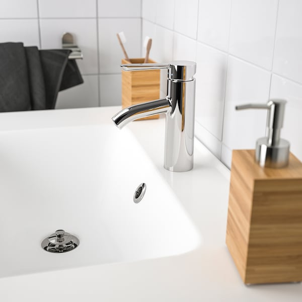 DALSKÄR Mitigeur lavabo avec bonde, chromé