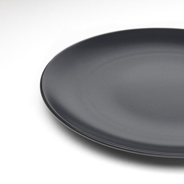 DINERA Service de vaisselle, 18 pièces, gris foncé